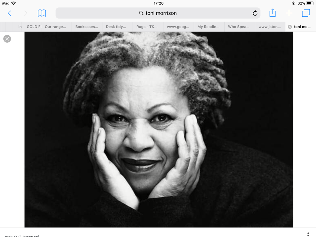 the search for self identity in the bluest eye by toni morrison The bluest eye questions and answers how does low self-esteem lead to pecola's identity in the novel the bluest eye, toni morrison inserts excerpts from an.